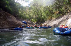 White Water Tubing on the Rio Negro