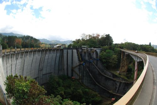 Amazing view of Cachi Dam, Cartago