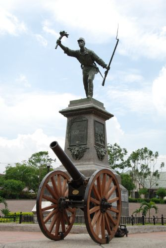Monument of Hero Juan Santamaria