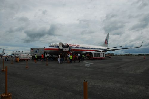 American Airlines at Liberia Intl Airport