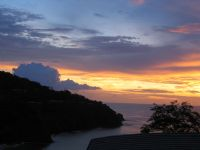 Sunset from 4 Seasons Hotel Papagayo