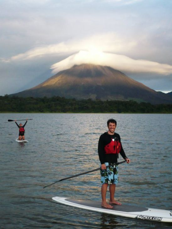Desafio Stand Up Paddling on Lake Arenal