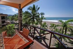 Beachfront condo at Bahia Encantada