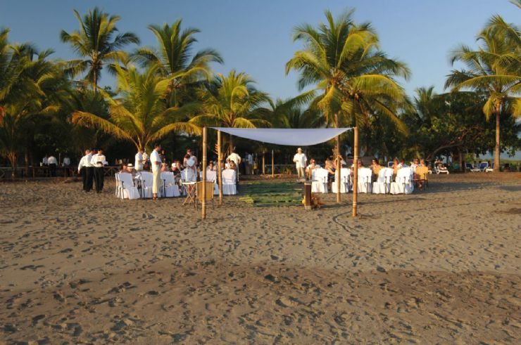 Wedding Ceremony at Timarai Bamboo Resort