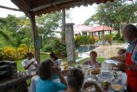Barbecue at Los Almendros de Ocotal