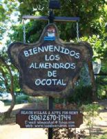 Entrance at Los Almendros de Ocotal