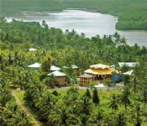 Timarai Bamboo Resort Bird's Eye View