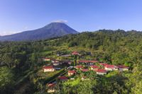 Arenal Volcano Inn from the air
