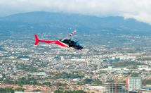 Flying over San Jose with Volar Helicopters