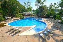 Pachira Lodge Turtle Shaped Pool