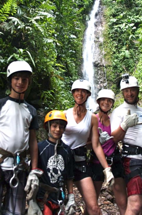 Desafio Canyoning in the Lost Canyon
