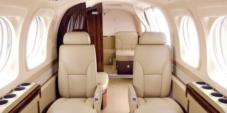 Luxury interiors at Aero Caribe