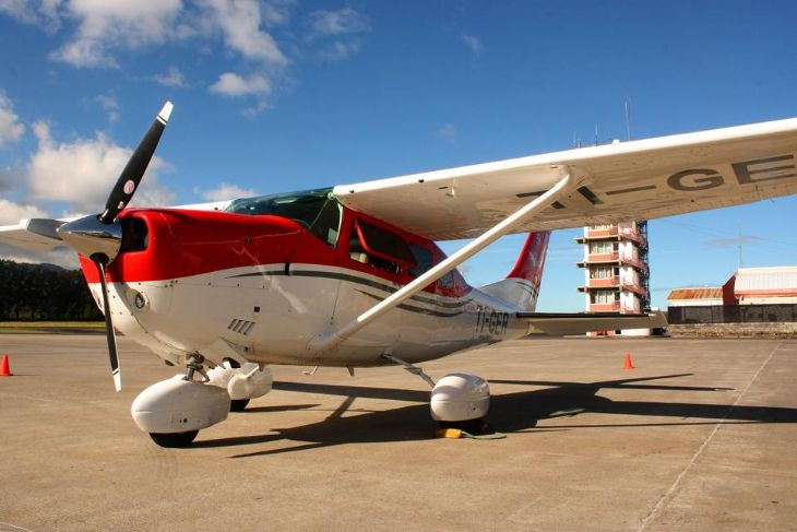 Beautiful Aero Caribe Airplane waiting for you