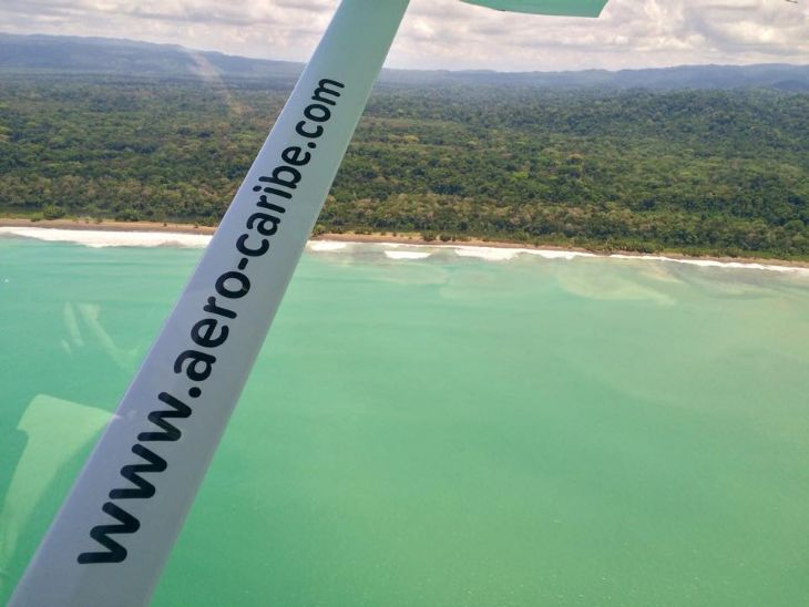 Landing in Osa Peninsula